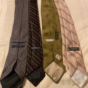 Luxury tie lot!